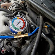 Авто A/C R134A хладагент перезарядка шланг Манометр низкого давления автомобиля кондиционер LKS99