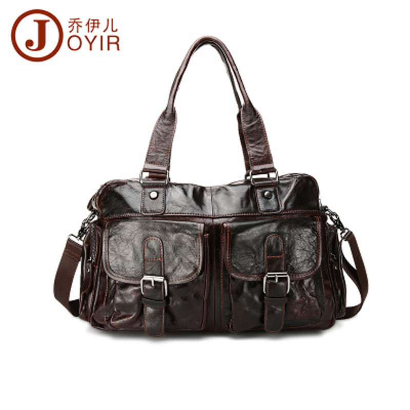 YISHEN Fashion Korean Style Male Shoulder Crossbody Bag Genuine Cowhide Leather Men Handbags Casual Totes Messenger Bag QYRA-061 2015 new korean men s messenger bag brand shoulder bag fashion crossbody bag handbags for male free shipping