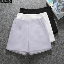 Summer new wide legged pants women of han edition of tall waist A word outside wear