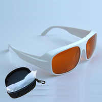 GTY 532nm, 1064nm laserowe okulary ochronne o wielu długościach fali, laserowe gogle ochronne okulary ochronne Nd: yag