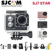 Оригинальный SJCAM sj7 star 4 К 30fps Ultra HD Wi Fi Action Cam Велосипедный Спорт CAM 2.0 Сенсорный экран Дайвинг 30 м дистанционного мини видеокамер Go Pro