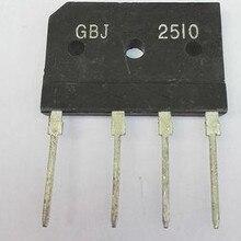 25A 1000 В диодный мост выпрямителя gbj2510 ZIP на