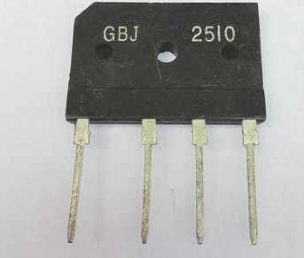 25A 1000V diode bridge rectifier gbj2510 ZIP In Stock