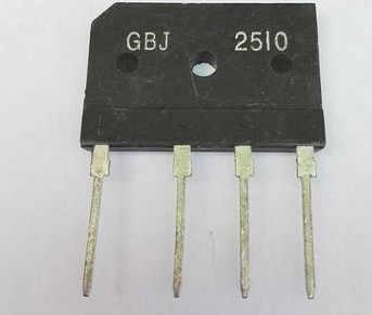 25A 1000V diode bridge rectifier gbj2510 ZIP Auf Lager
