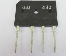 25A 1000V diode bridge rectifier gbj2510 ZIP In Stock(China)