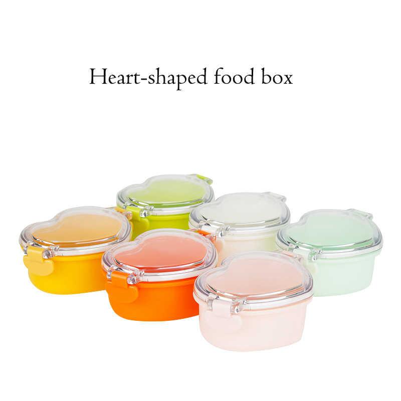 Caixa de Armazenamento De Alimentos do bebê Bebê Caixa de Lanche Caixa De Refrigeração Fresco-mantimento Caixa de Alimentos Recipiente de Alimento Do Bebê de Alimentação Do Bebê BPA livre