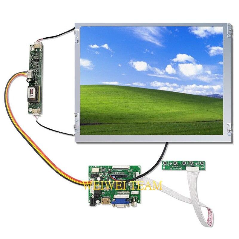 12.1 pouces TFT LCD Module d'affichage G121SN01 V3 Machines industrielles LVDS à HDMI contrôleur carte 20 broches connecteur 800X600