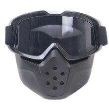 Professionale maschera di equitazione moto casco occhiali casco Jet maschera viso aperto casco motor goggle outdoor equitazione attrezzature