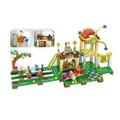 Nuevo mi mundo ciudad turismo minecraft modelo kit acción anime figuras building blocks ladrillos divertidos juguetes para niños compatibles lepin