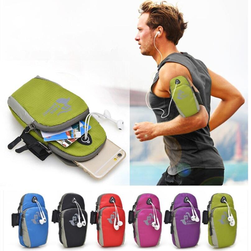 For Huawei Ascend P1 P2 P6 S P7 P8 Lite P9 P 6 7 8 9 G9 Universal Waterproof Nylon Running Bag Sport Arm Band Case