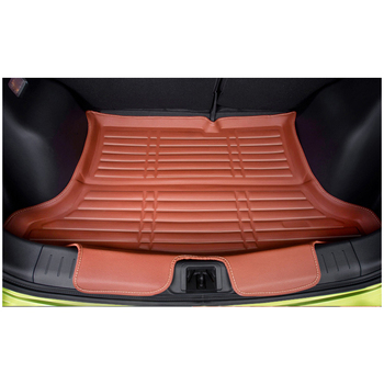 lsrtw2017 waterproof durable car trunk mat for nissan tiida Nissan Pulsar c13 2014 2015 2016 2017 2018