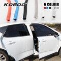KOSOO автомобильные наклейки для защиты от царапин на кромке двери  наклейки для Ssangyong Chairman Rexton Kyron Rodius Actyon  авто Стайлинг