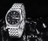 Fashion New Hot Sale FEDYLON Big Face Stainless Steel Analog Waterproof Mens Quartz Wrist Watches