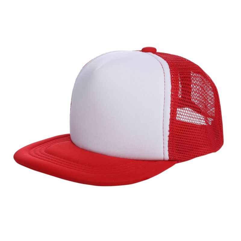 Bambini Ragazze Dei Ragazzi In Bianco Cappelli di Snapback Bboy Regolabile Berretto da baseball Del Cappello
