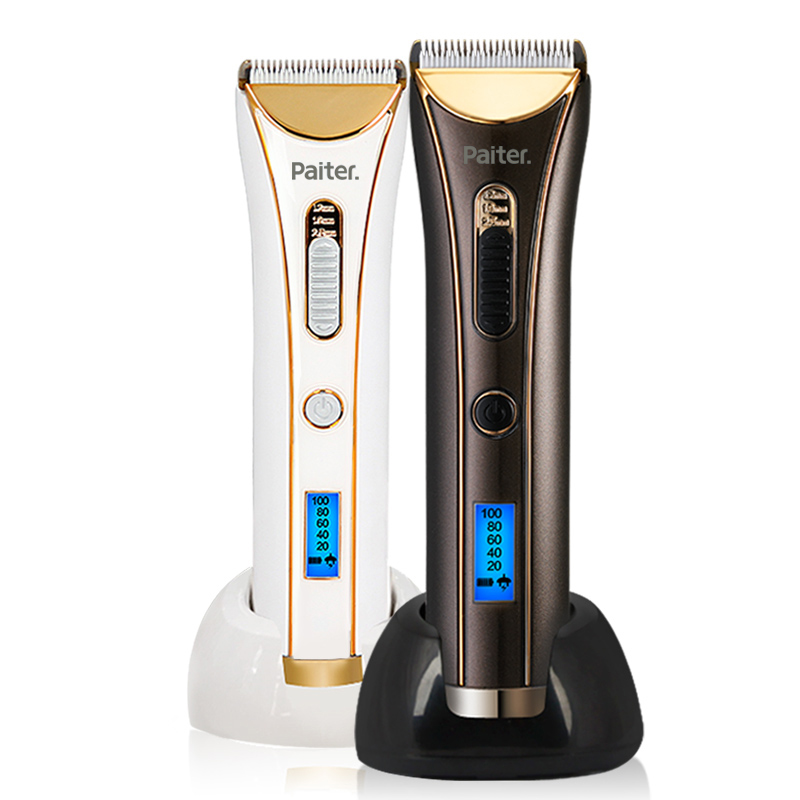 Paiter Electric hair clipper Beard Trimmer Hair cutting machine Rechargeable Cordless Wireless 1 Hour Charging 2 Hours Working