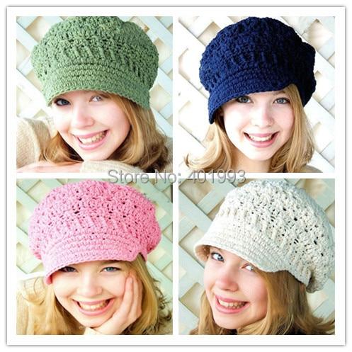 New toddler hat Spring beanie women s newsboy hat crochet adult hats  knitting patterns women Beret hats XL size free shipping 22f0835372