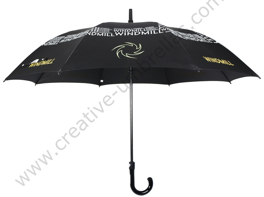 Free shipping by sea,private customized advertising promotion present parasol over panels printing neon gift golf umbrella