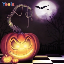 Yeele Halloween Party Pumpkin Lantern Customized Photography Backdrops Personalized Photographic Backgrounds For Photo Studio цена