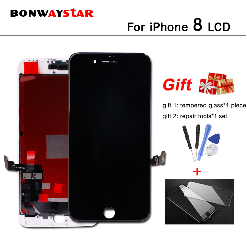 No Dead Pixel LCD Screen for iPhone 8 A1863 A1905 A1906 LCD Display Touch Digitizer Sensor Glass LCD Assembly Monitor Pantalla