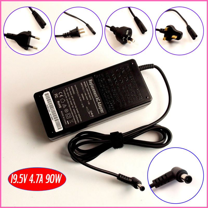 19.5V 4.7A Laptop Ac Adapter Charger for Sony VAIO VGP-AC19V24 VGP-AC19V25 VGP-AC19V26 VGP-AC19V27 VGP-AC19V31
