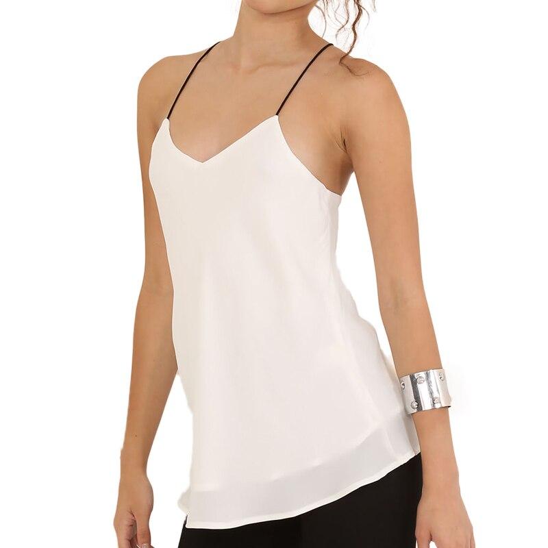 Elia Cher бренд Новое Поступление, мода белый шифон подтяжки, верхняя одеджда,качества ткани, большой размер женская одеда - Цвет: Белый