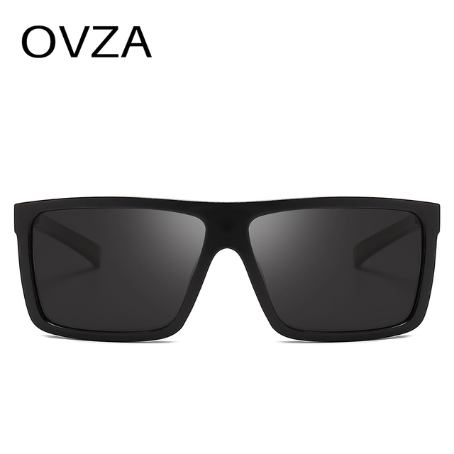 OVZA Polarized Flat Top Designer Sunglasses 5
