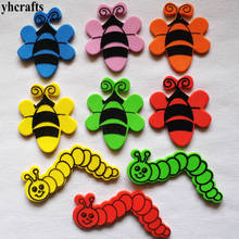 20PCS 1bag LOT Butterfly Bug f oam stickers Spring crafts Easter decoration Early learning educational diy