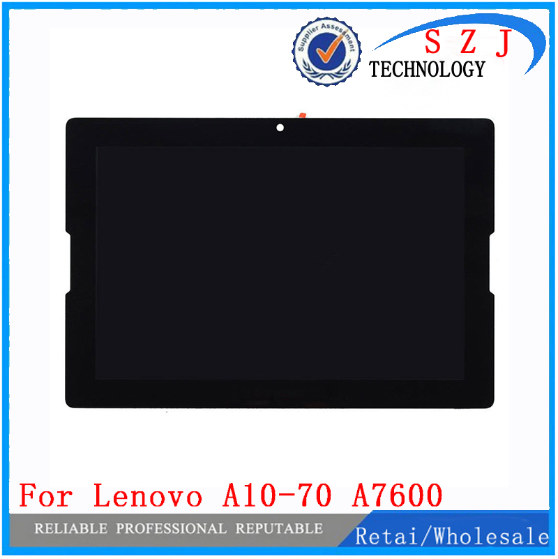 New 10.1 inch BP101WX1-210 LCD Display Digitizer+TOUCH SCREEN For Lenovo A10-70 A7600 Digitizer Replacement free shipping