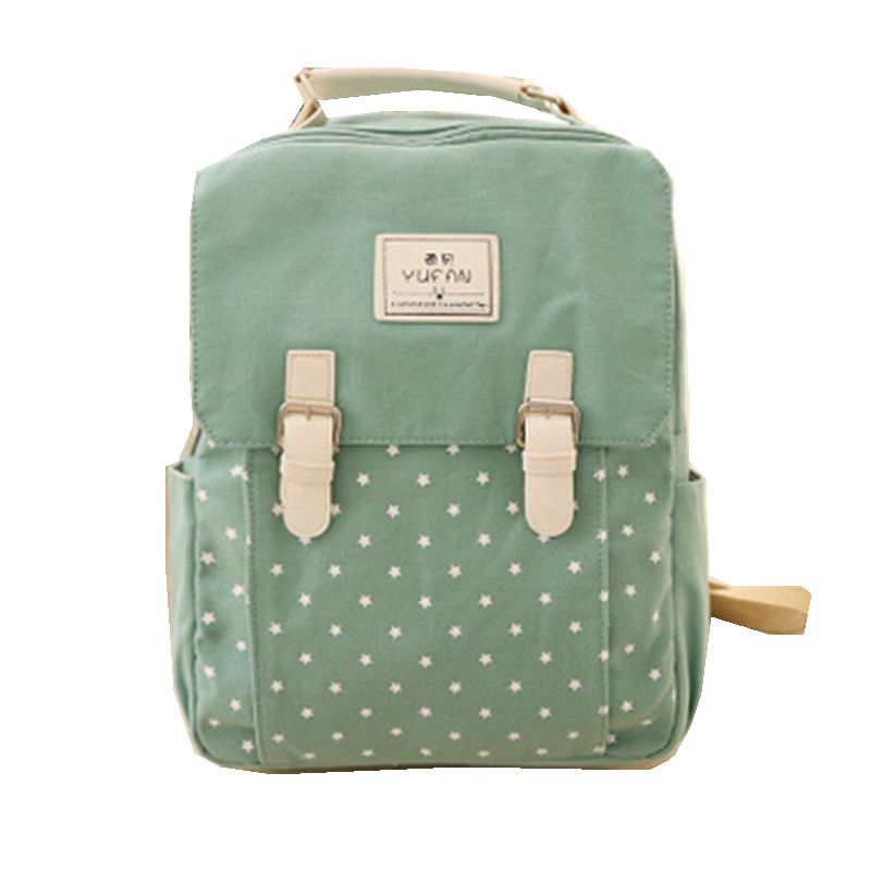 Preppy Style 2016 New Canvas Backpack Women Bag Backpacks ...