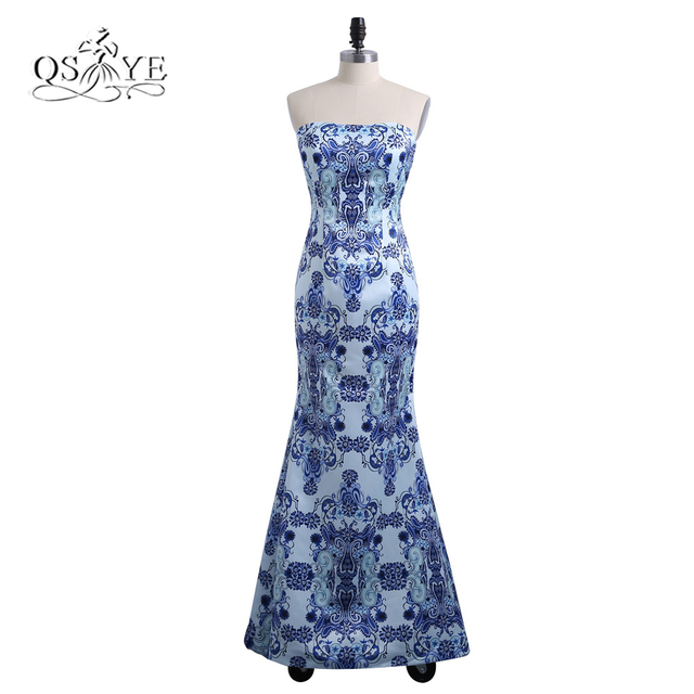 Kleid blumen lang