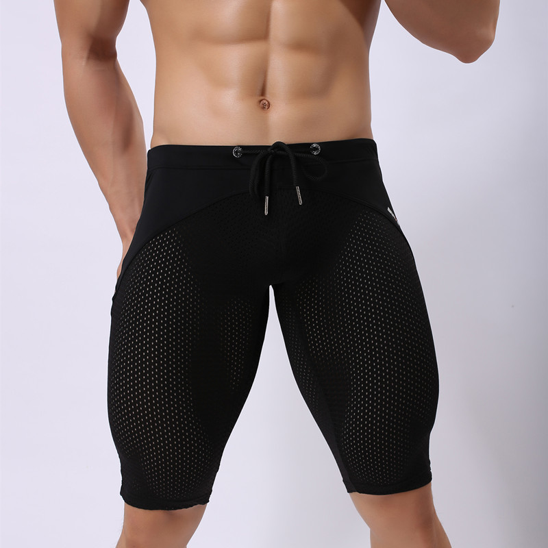 BRAVE PERSON brand Men Swim underwear tight sexy Swimsuits Surf Boardshorts Beach pants Man swimwear Trunks sport Shorts