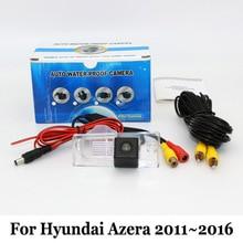 Для Hyundai Azera HG 2011 ~ 2016/Проводной Или Беспроводной HD Широкий Угол объектива Камера Заднего вида/Доказательство Воды CCD Ночного Видения камера