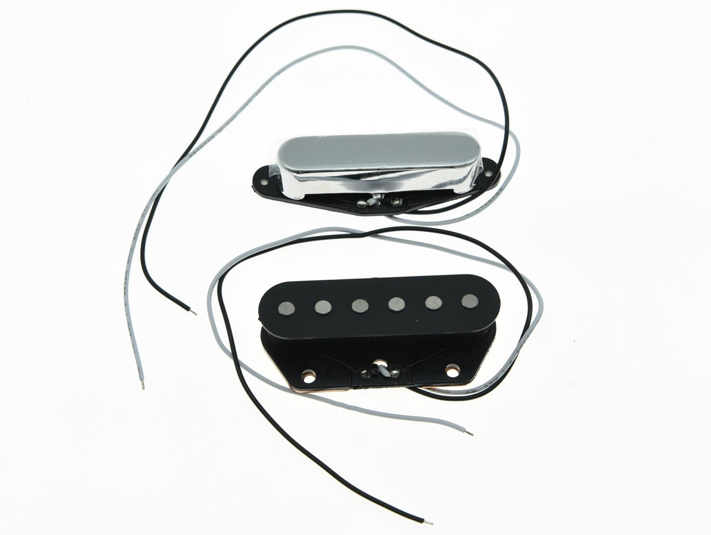 kaish set of 2 vintage sound alnico 5 tele pickup pickups for telecaster in guitar parts. Black Bedroom Furniture Sets. Home Design Ideas