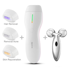 3 In 1 Women Permanent Hair Removal Device.IPL Electric Epil