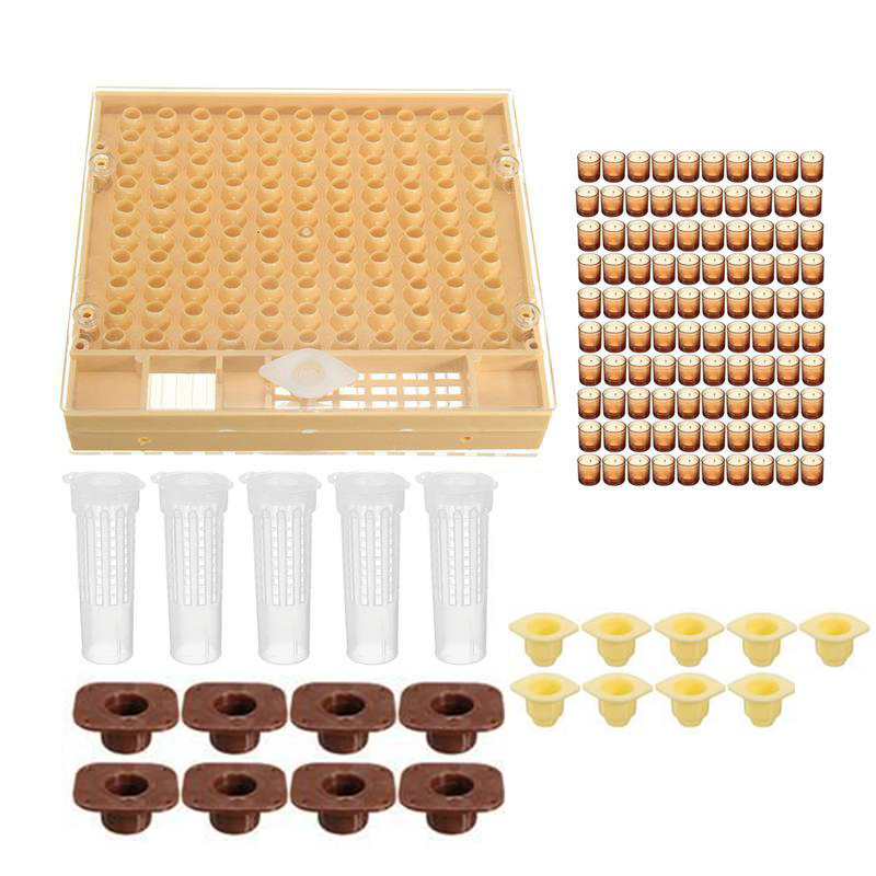 Beekeeping Cupkit Cell Cups Bee Tool Set Queen Rearing System Bee Nicot Complete