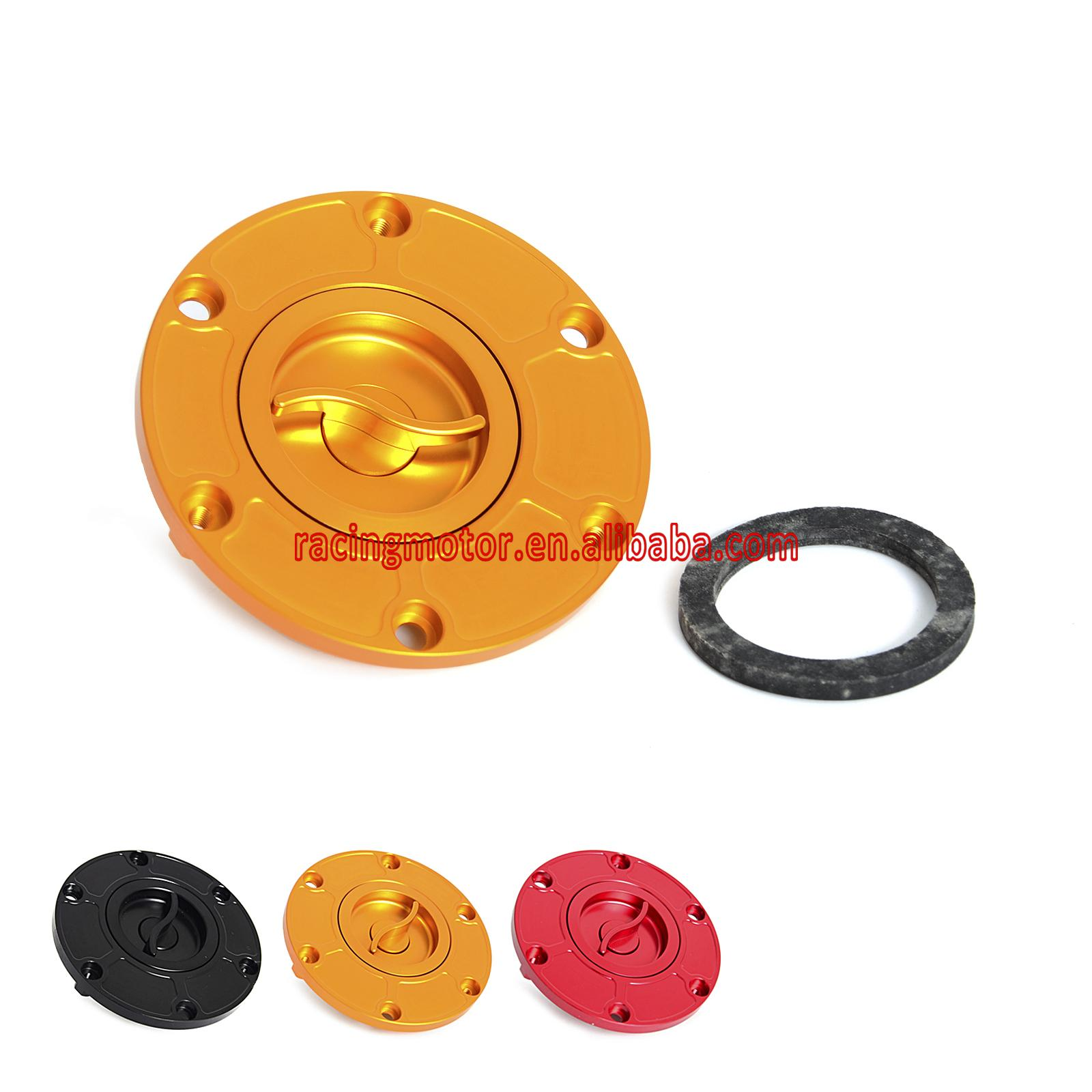 Aluminum Fuel Gas Cap Anodized Fit For Aprilia RSV1000 RSV 1000 1997 1998 1999 2000 2001 2002 2003 Tuono 1000 2002- 2005 aluminum water cool flange fits 26 29cc qj zenoah rcmk cy gas engine for rc boat