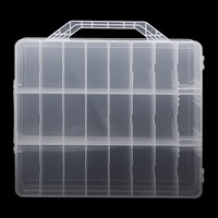 Nail Polish Holder Display Container Organizer Storage Box Case 48 Lattice Pro Showing Shelf