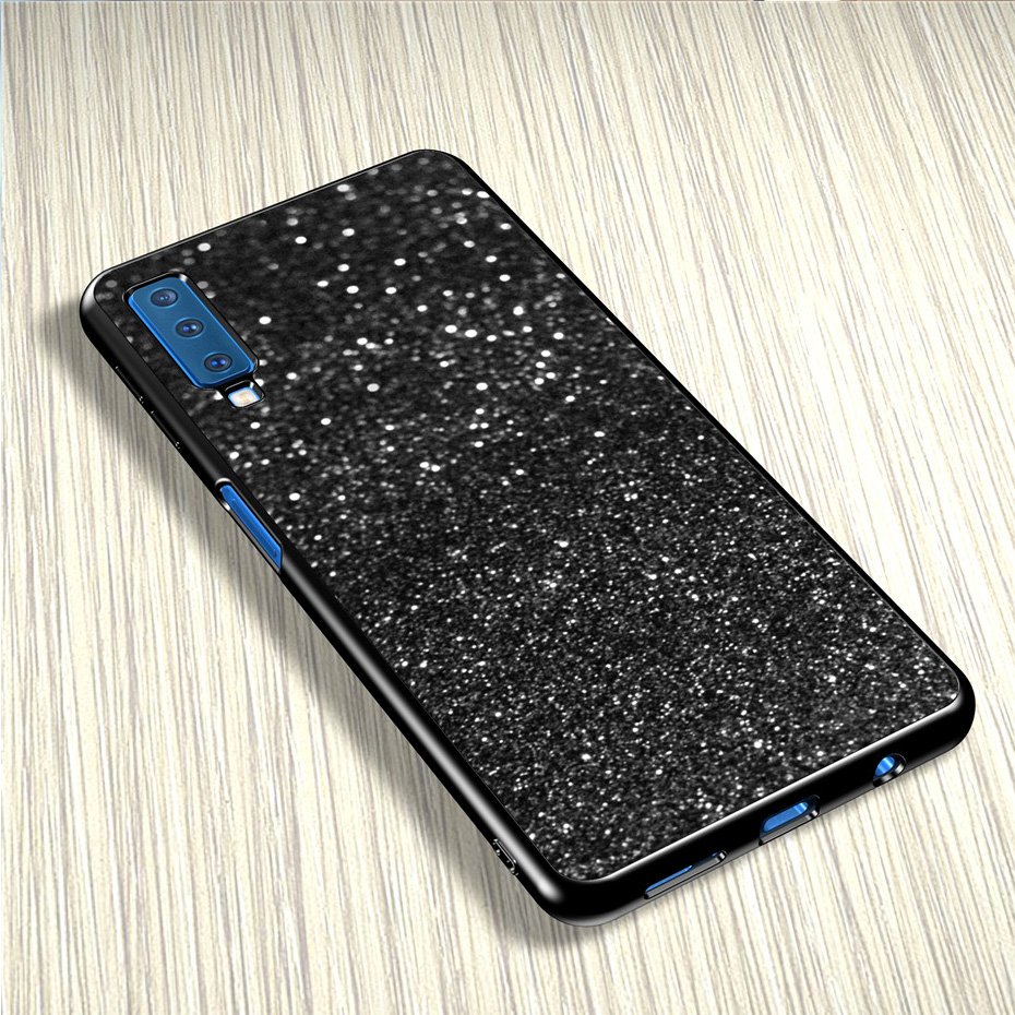 Bling Soft Cases For Samsung Galaxy A7 2018 A5 A3 J3 J5 J7 2017 S8 S3 S5 S9 S10 Lite 2016 J8 J4 J6 Plus A6 A8 A9 2018 Cover Case