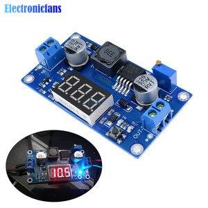 Image 1 - DC DC XL6009 Digital Boost Step Up Power Supply Module Adjustable 4.5 32V to 5 52V Step up Voltage Regulator With LED Voltmeter