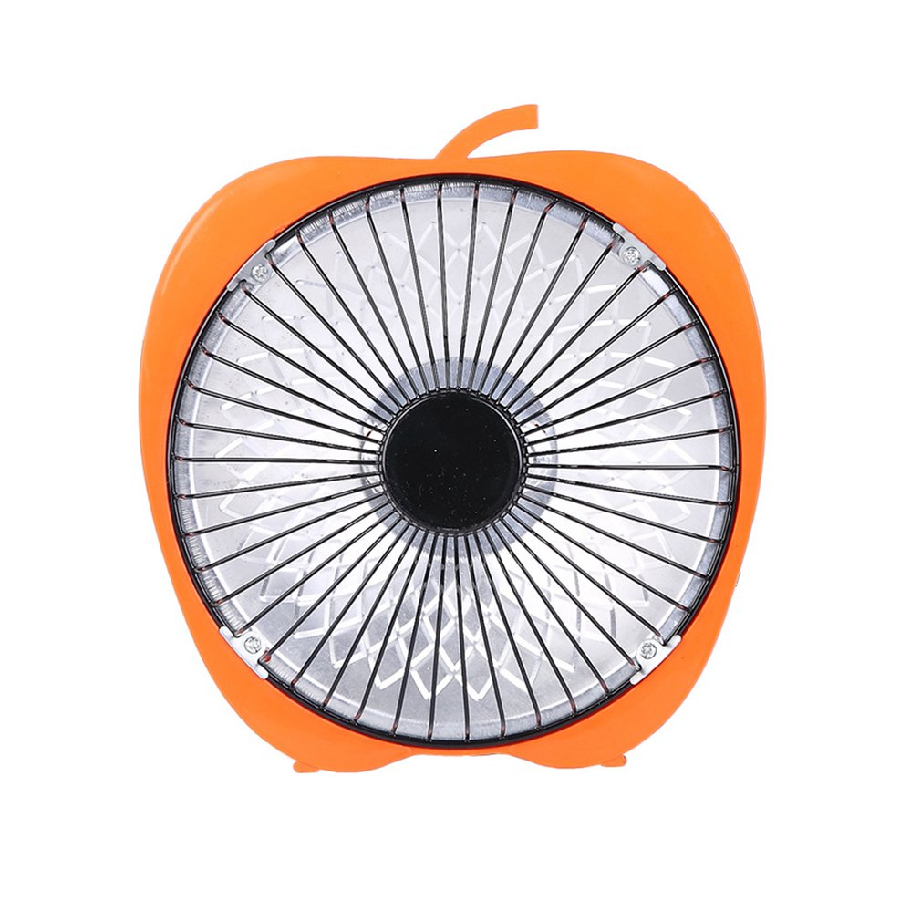 Winter Mini Solar Creative 6 Inch Cartoon Electric Heater Office Desktop Heater Small Heater Fan Orange