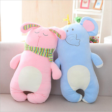 Lovely Forest Animal Bear Rabbit Pig Elephant Dinosaur Plush Toy Stuffed Soft Plush Doll Children Gift lovely rabbit plush toy stuffed animal rabbit doll soft plush pillow children birthday gift