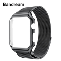Milanese Loop Band Metal Frame For IWatch Apple Watch 38mm 42mm Series 3 2 1 Watchband