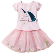 AmzBarley Girls 2 pieces princess dresses tutu Dress kids Cotton Lace Birthday party Halloween costume toddler summer clothes цена и фото