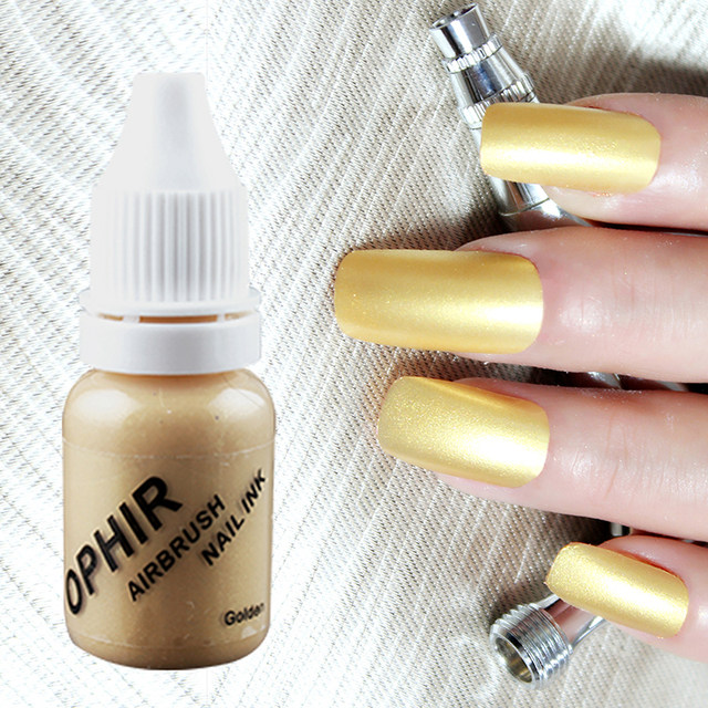 Online Shop OPHIR WHITE Acrylic Paint Airbrush Nail Ink Pigment for ...