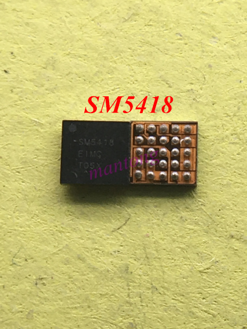 3pcs 5pcs for Samsung Tablet T231 T235 usb charging IC SM5418 25 pins