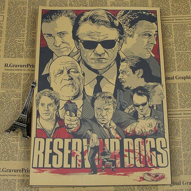 Bastardos Inglórios/Django Unchained/Reservoir Dogs/Kill Bill Quentin Tarantino Cartaz Vídeos
