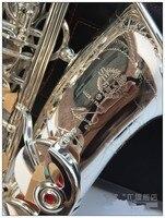 High Quality New French Selmer 54 Silvering Saxophone E Flat Alto Saxophone Top Music Brass Saxophone