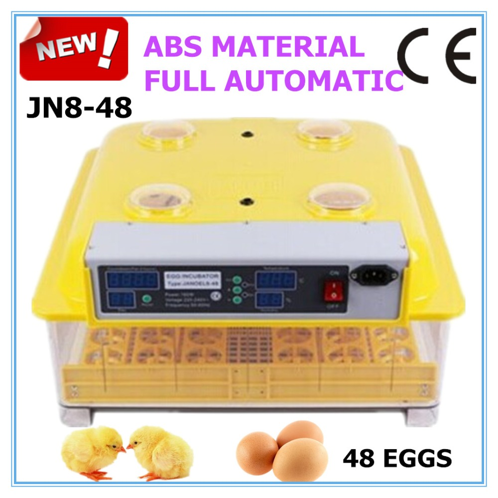 Digital 48 Eggs Full Automatic Chicken Bird Egg Incubator Transparent Free Candle Gift CE Approved Excellent Quality brand kr little red bird and green pig building blocks toys with fun for children kids birthday gift legoelieds lp19003