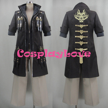 New Custom Made Japanese Game Style God Eater Burst Lindow Amamiya Uniform Cosplay Costume With Hat Halloween High Quality