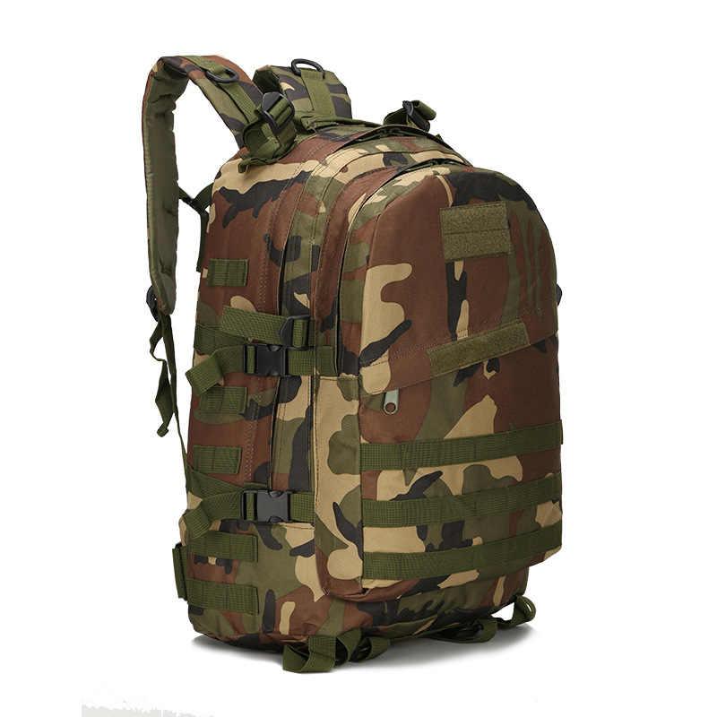 Рюкзак сумка 3D мужской военный рюкзак Оксфорд мужская тактика рюкзак женский водостойкий мужской армейский поклонник камуфляж дорожные сумки PTW004